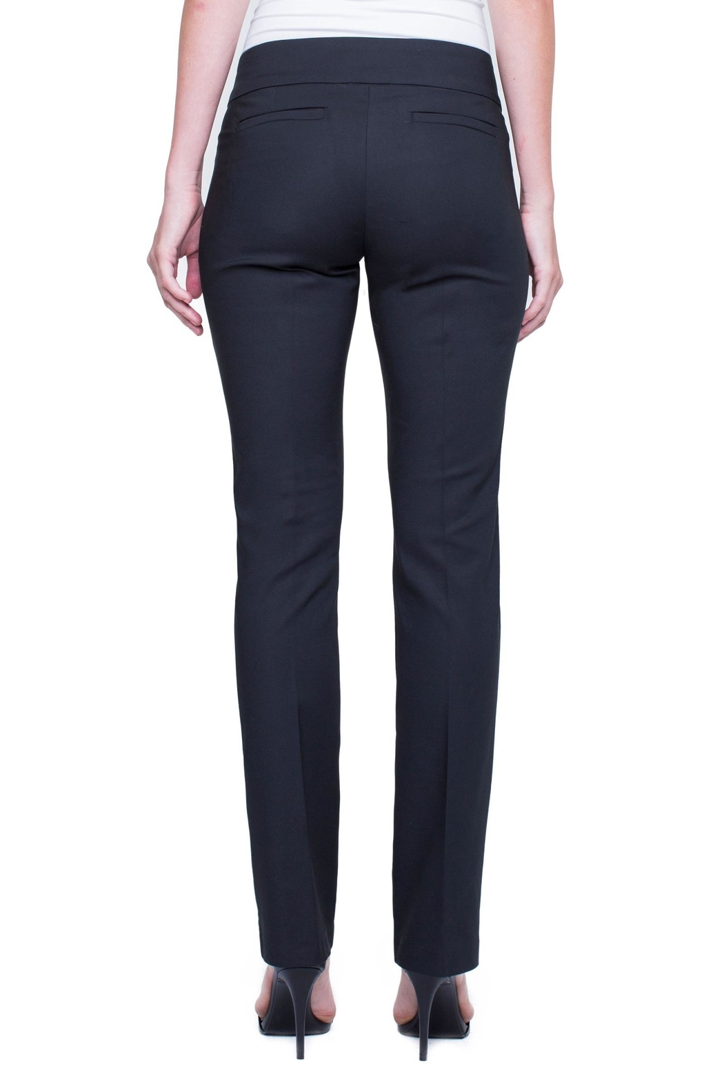 Liverpool Graham Boot-Cut Trouser - Back Cropped Image