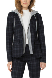 Liverpool  Blazer with Removable Hood - Front cropped