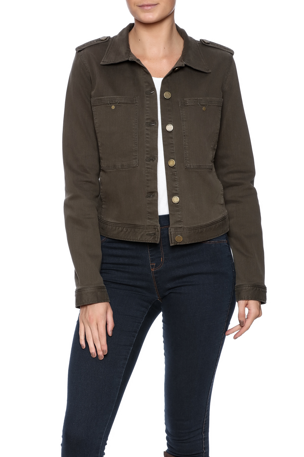 Liverpool Jean Company Cargo Jacket - Front Cropped Image