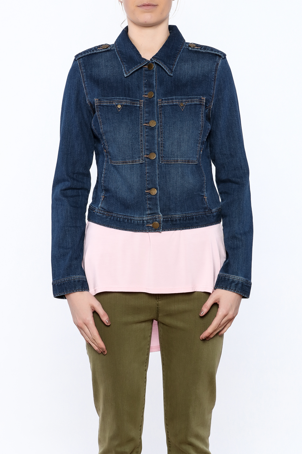 Liverpool Jeans Company Classic Denim Jacket - Side Cropped Image