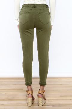 Liverpool Jeans Company Olive Cropped Jeans - Alternate List Image