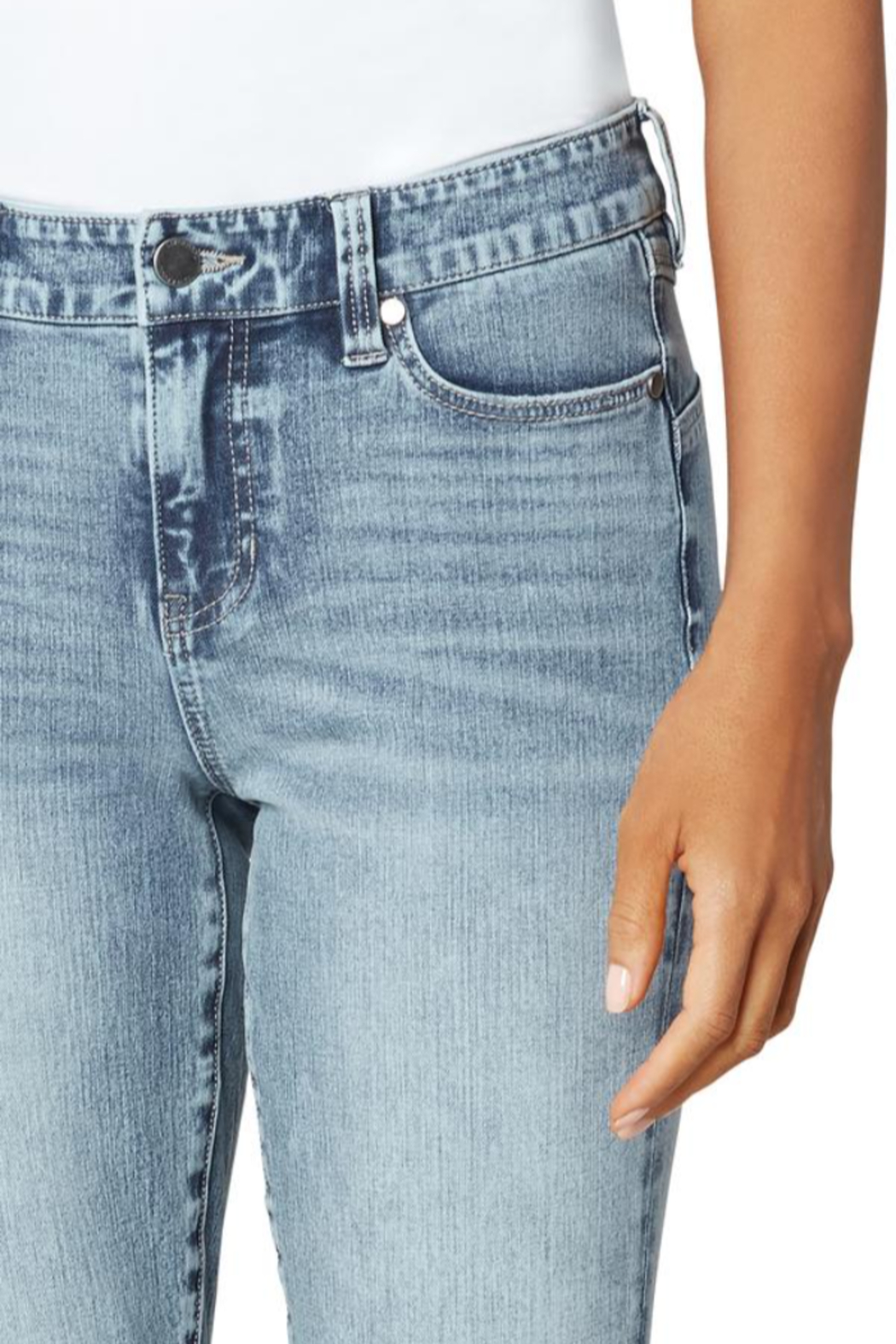 Liverpool Jean Company Liverpool Piper Ankle - Side Cropped Image