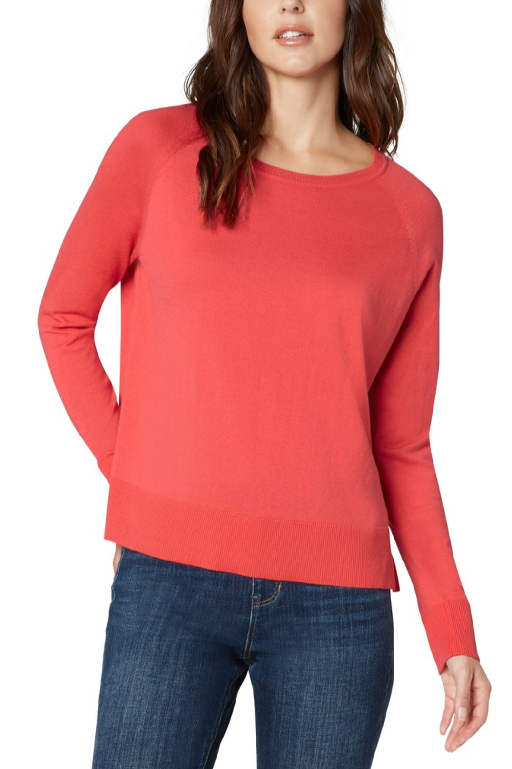 Liverpool  Raglan Sweater - Front Cropped Image