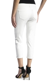 Liverpool Relaxed Crop Pants - Front full body