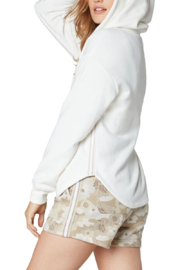Liverpool  Relaxed Zip Front Hoodie - Front full body
