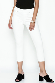 Liverpool Sienna White Legging - Product Mini Image