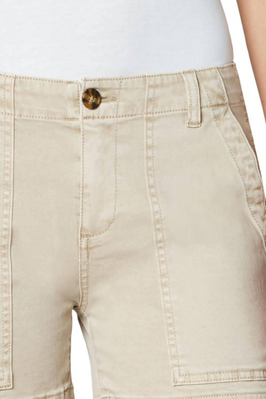 Liverpool Jean Company Liverpool Utility Shorts - Side Cropped Image