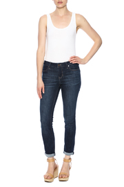 Liverpool Vintage Crop Jeans - Front full body