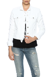 Liverpool White Denim Jacket - Product Mini Image
