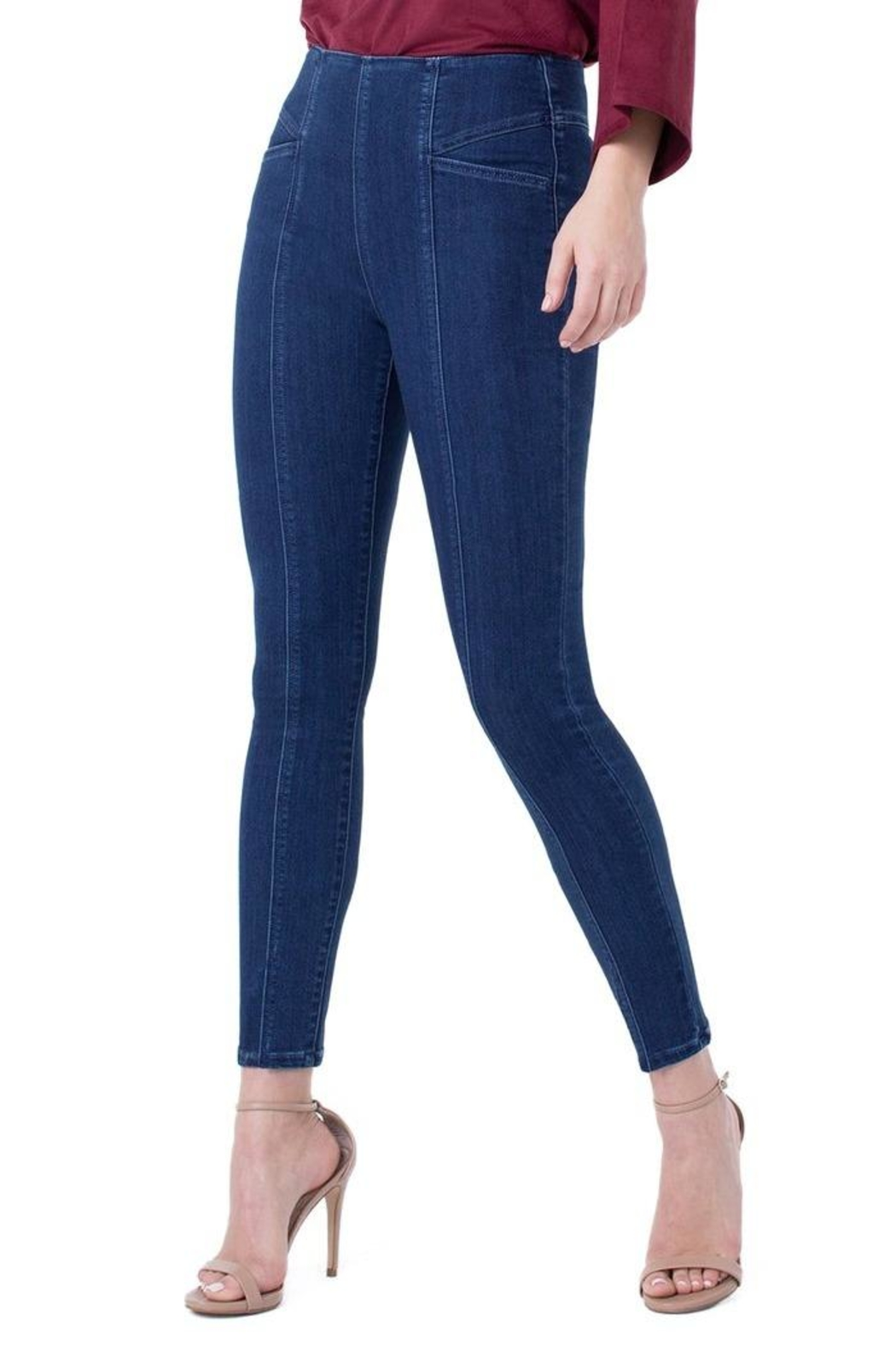 Liverpool Jean Company Ankle Skinny Jeans - Main Image