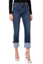 Liverpool Jean Company Beaded Crop Jeans - Product Mini Image