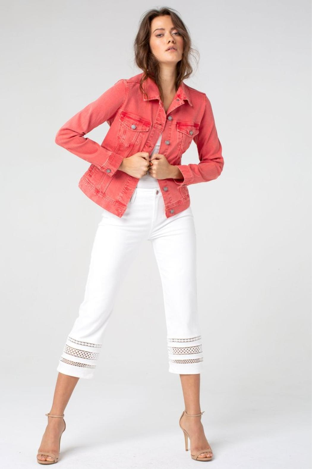 Liverpool Jean Company Coral Jean Jacket - Side Cropped Image