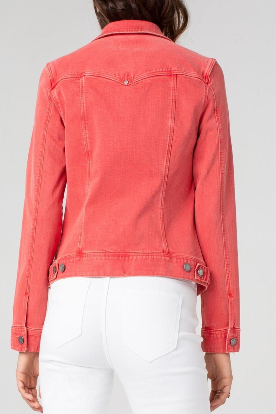 Liverpool Jean Company Coral Jean Jacket - Front Full Image