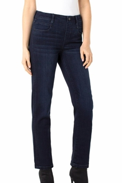 Liverpool Jean Company Cropped Pull-On Jean - Product List Image