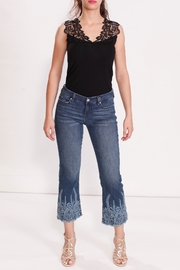Liverpool Jean Company Embroidered Tonal Jean - Product Mini Image