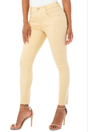 Liverpool Jean Company Gia Glider Crop - Front cropped
