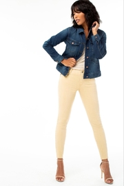 Liverpool Jean Company Gia Glider Crop - Side cropped