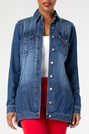 Liverpool Jean Company Hi-Low Shirt Jacket - Product Mini Image