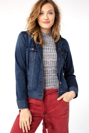 Liverpool Jean Company Hood Denim Jacket - Product Mini Image