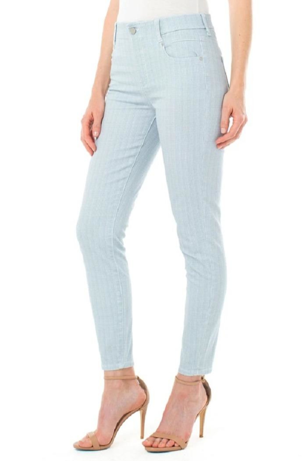 Liverpool Jean Company Houndstooth Pull-On Skinny - Main Image