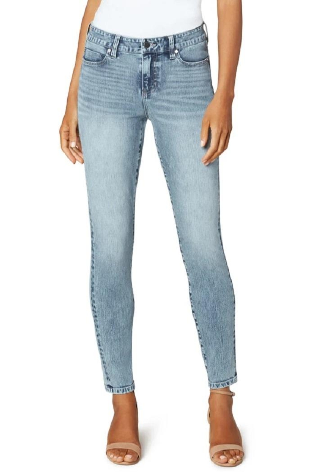 Liverpool Jean Company Hugger Ankle Jeans - Main Image
