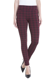 Liverpool Jean Company Plaid Printed Legging - Product Mini Image