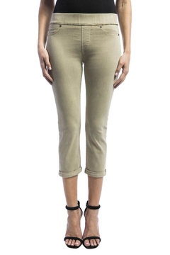 Shoptiques Product: Pull-On Twill Jeans