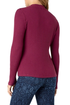 Liverpool Jean Company Ribbed Knit Sweater - Alternate List Image