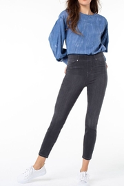 Liverpool Jean Company Skinny Grey Jeans - Front cropped