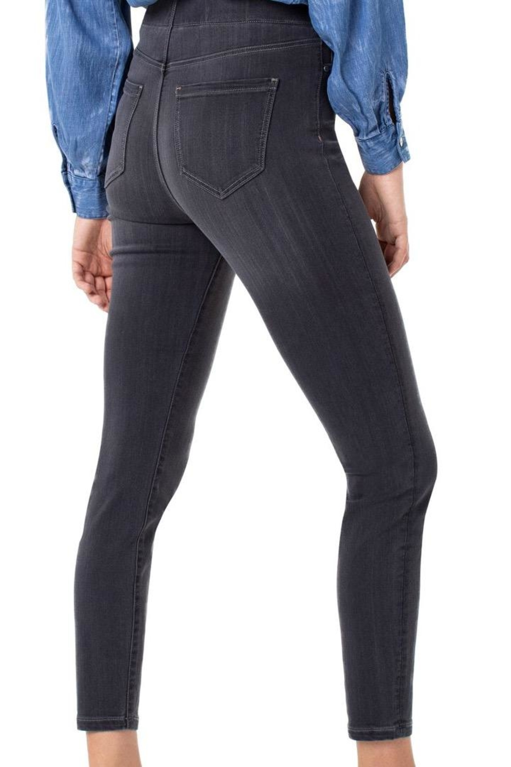 Liverpool Jean Company Skinny Grey Jeans - Front Full Image