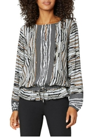 Liverpool Jean Company Snake Print Top - Front cropped