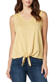 Liverpool Jean Company Tie Hem Tee - Front cropped