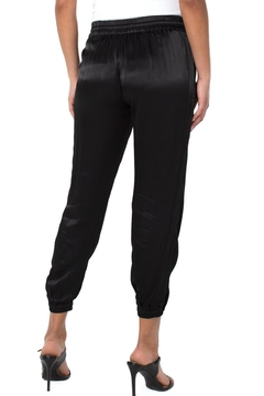 Liverpool Jean Company Woven Sateen Cropped Jogger - Alternate List Image