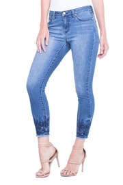 Liverpool Jeans Company Alec Crop Ebroidered - Product Mini Image