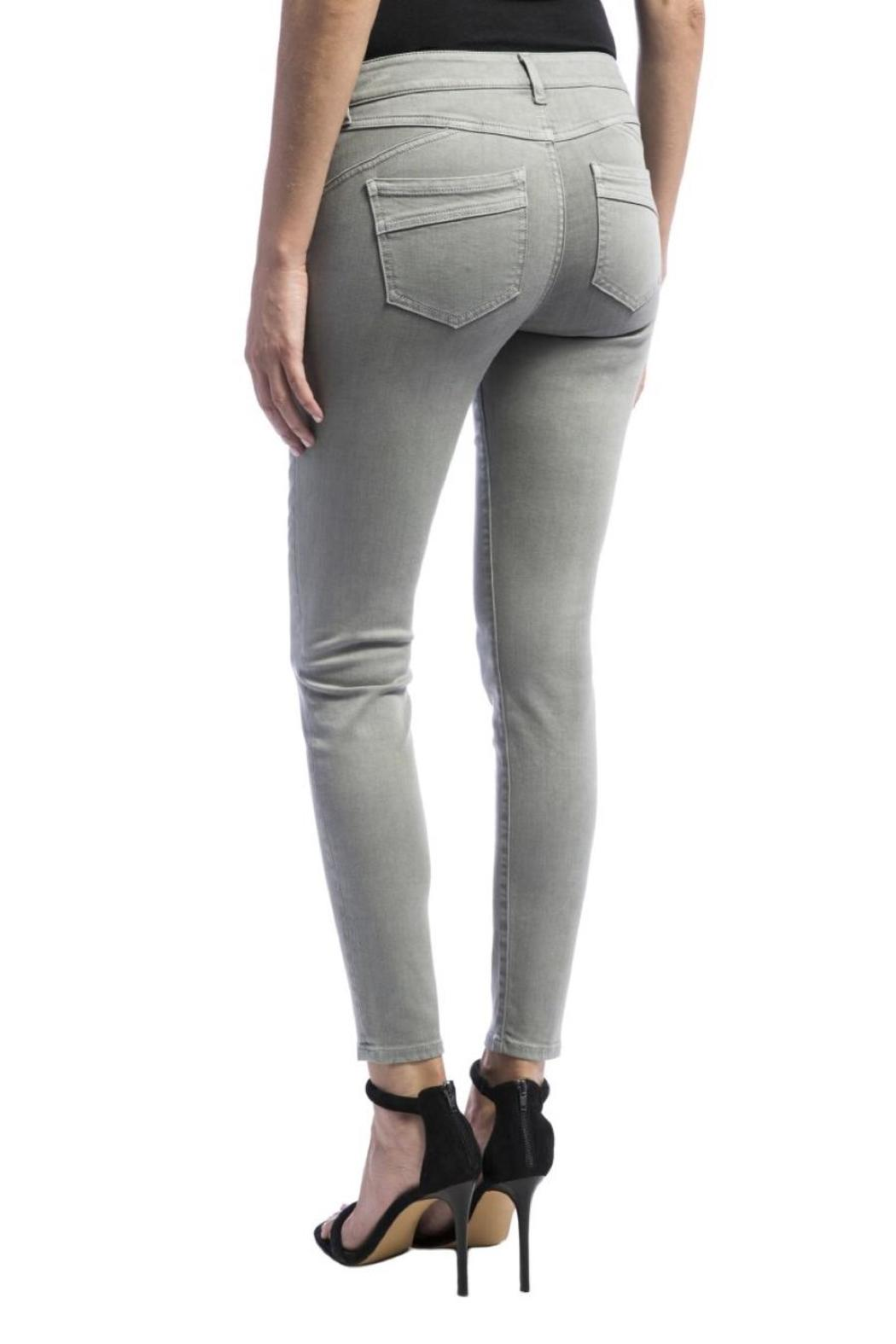 Liverpool Jeans Company Ankle Skinny Jeans - Side Cropped Image