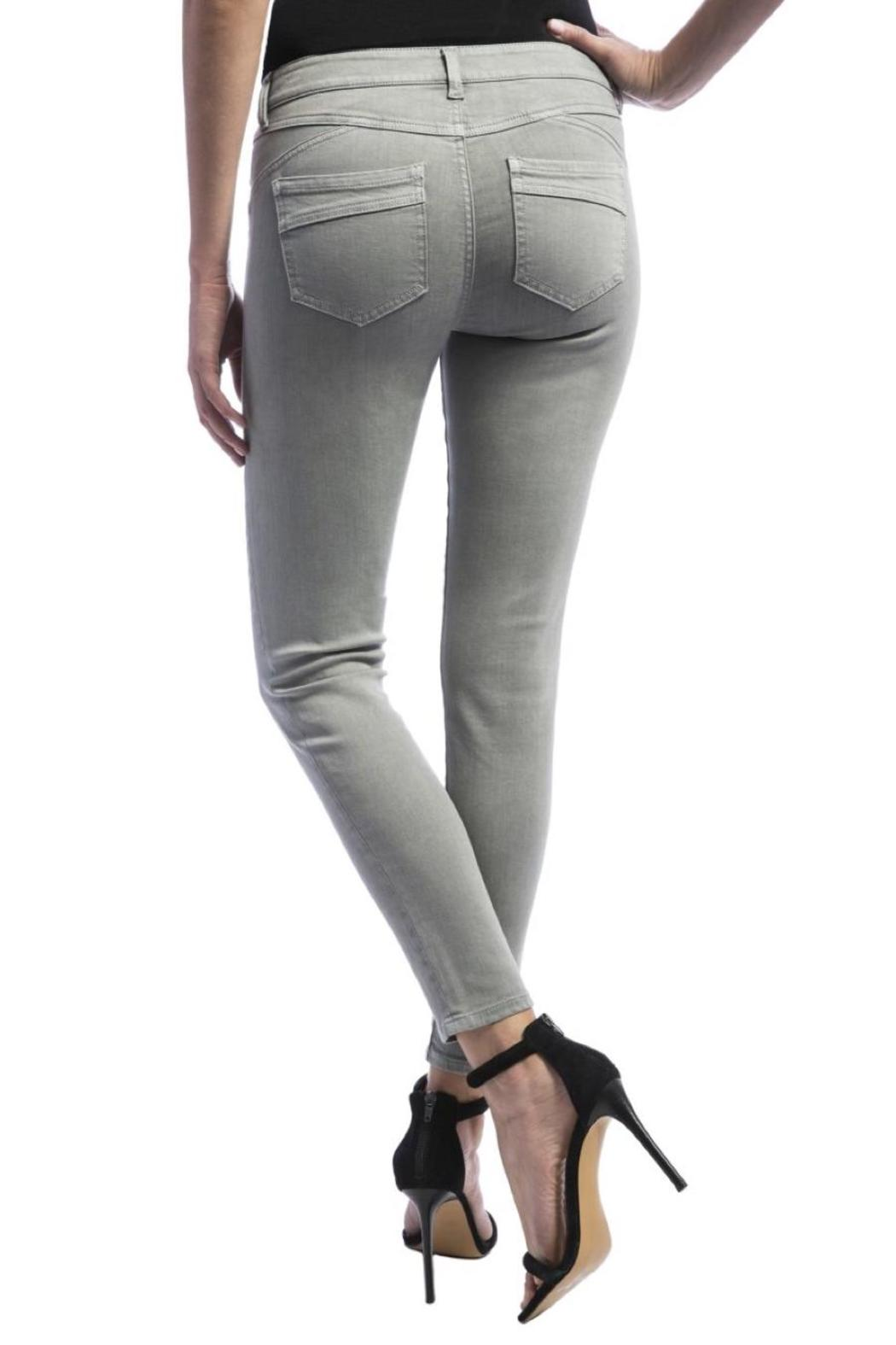 Liverpool Jeans Company Ankle Skinny Jeans - Back Cropped Image