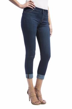 Liverpool Jeans Company Crop Cuff Jeans - Product List Image