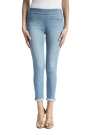 Liverpool Jeans Company Cropped Pull-On Jeans - Front full body