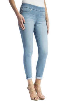 Shoptiques Product: Cropped Pull-On Jeans