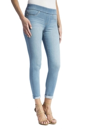 Liverpool Jeans Company Cropped Pull-On Jeans - Front cropped