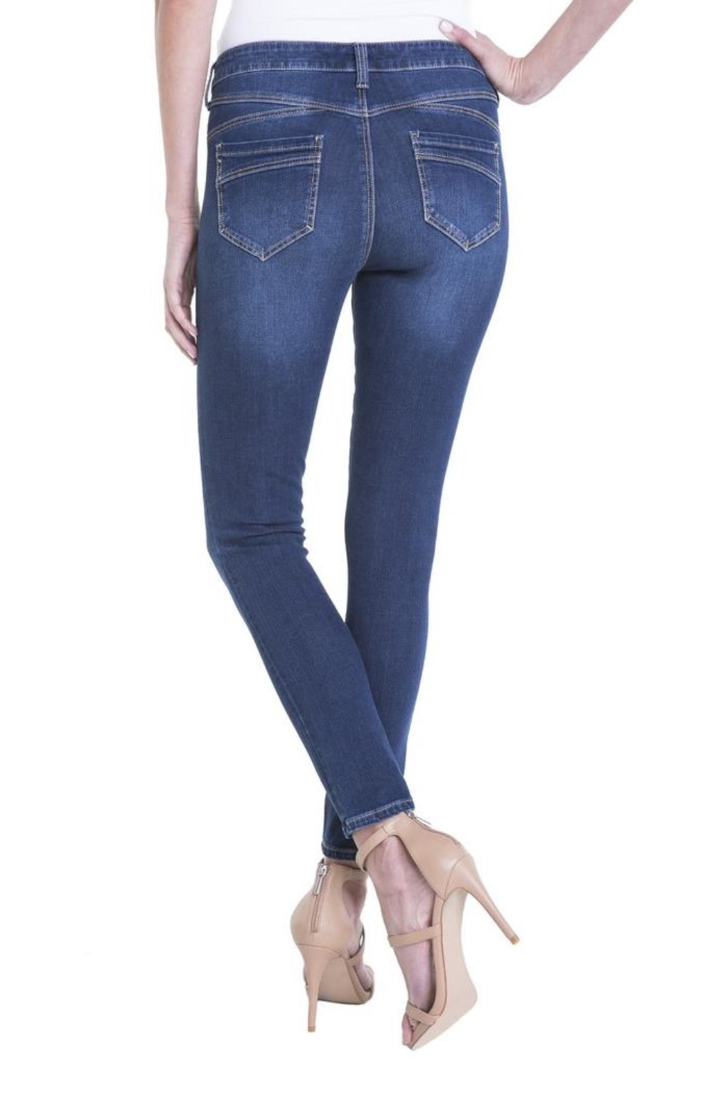 Liverpool Jeans Company Hugger Ankle Skinny - Front Full Image