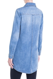Liverpool Jeans Company Long Denim Jacket - Front full body