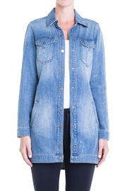 Liverpool Jeans Company Long Denim Jacket - Product Mini Image