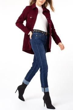 Liverpool Jeans Company Marley Girlfriend Cuffed With Belt Jeans - Product List Image
