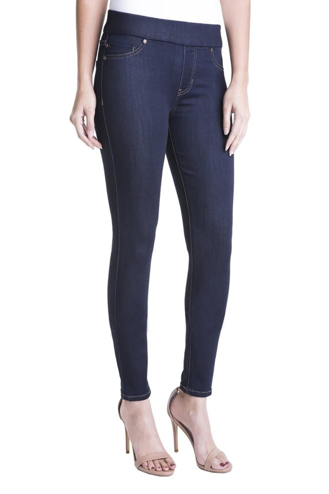 Liverpool Jeans Company Pull-On Jeans - Main Image