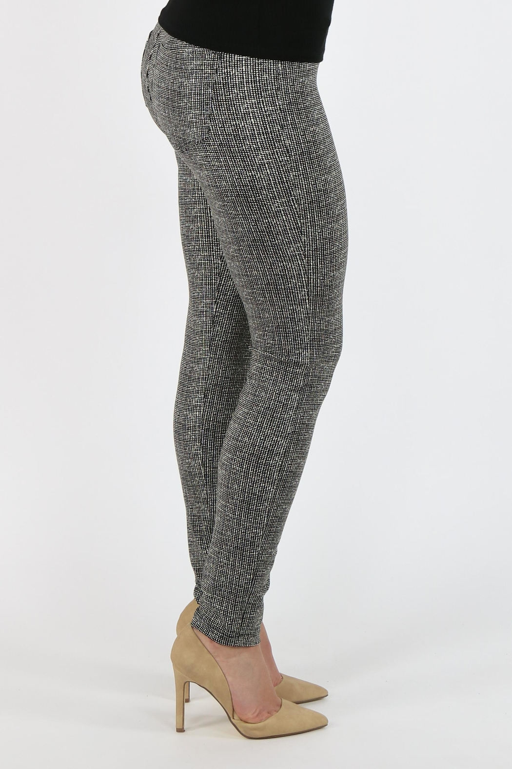 Liverpool Jeans Company Sienna Leggings Whisper-White - Back Cropped Image