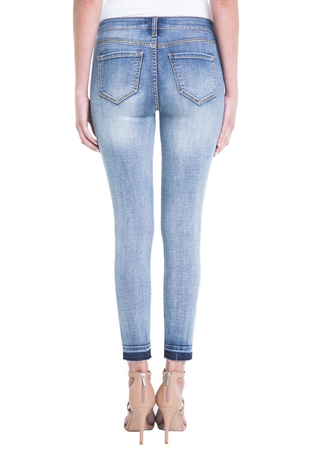 Liverpool Jeans Company Vintage Skinny Ankle - Back Cropped Image