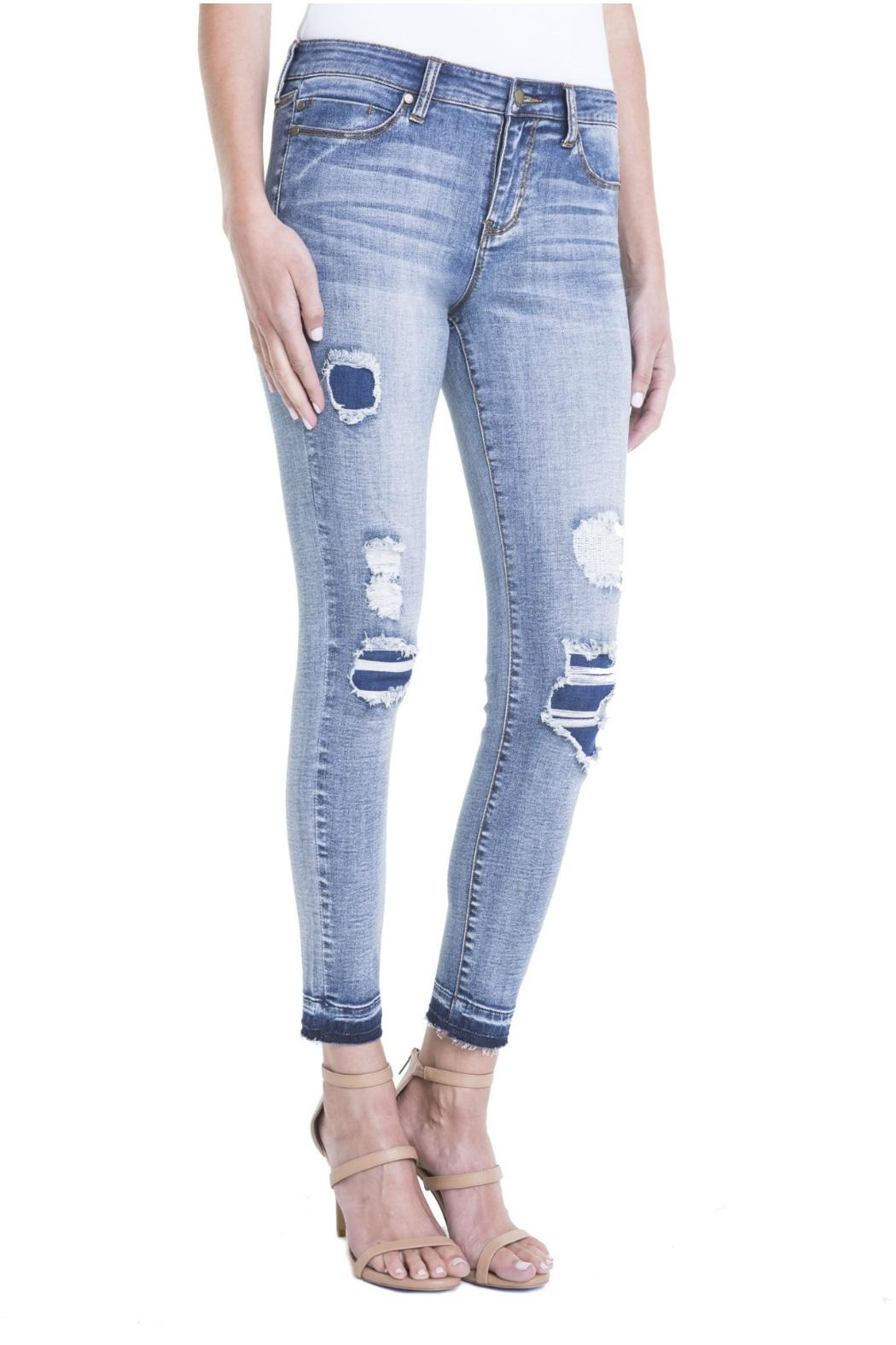Liverpool Jeans Company Vintage Skinny Ankle - Front Cropped Image