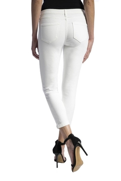 Liverpool Jeans Company White Crop Jeans - Alternate List Image
