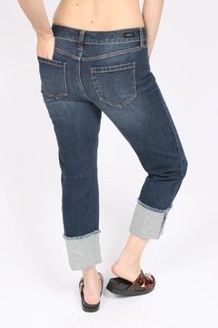 Liverpool Jeans Company Wide Cuff Crop - Alternate List Image